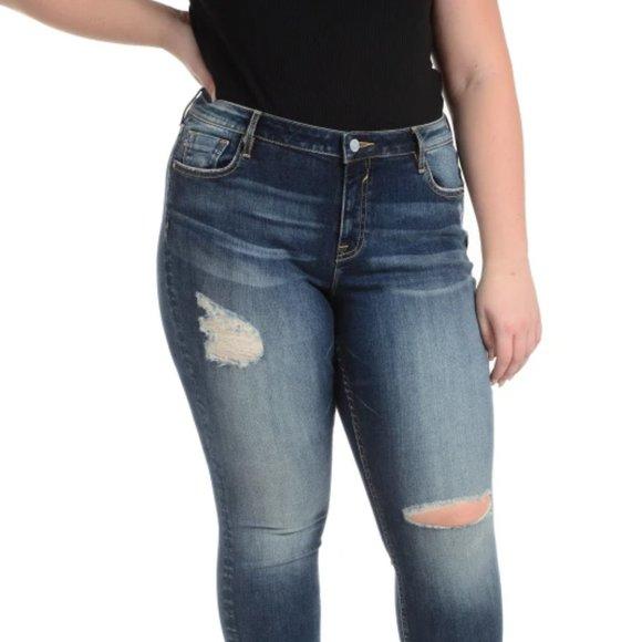 Vigoss Denim - Vigoss for Torrid Thompson Tomboy  Skinny Jeans